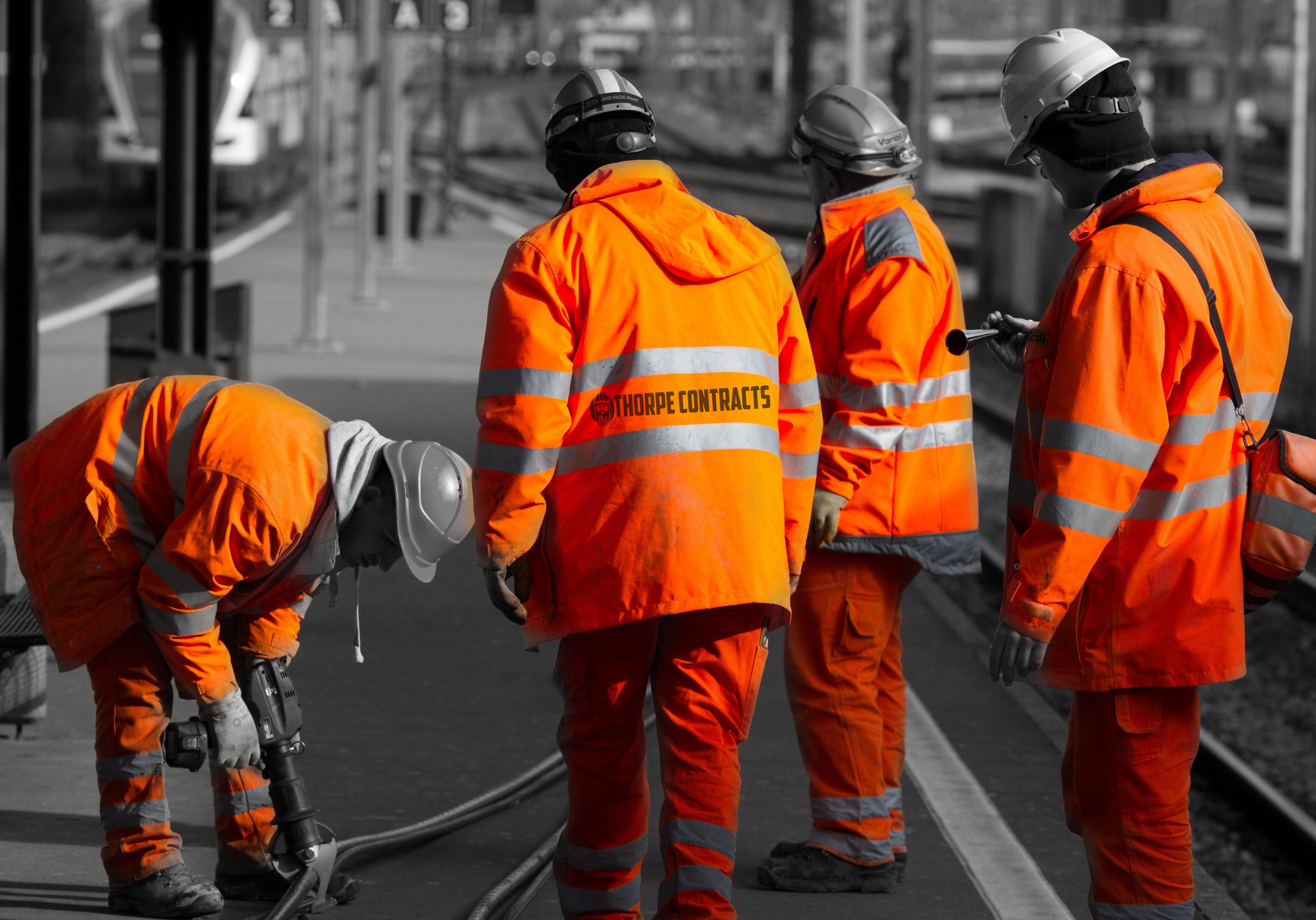 Bahnarbeiter II